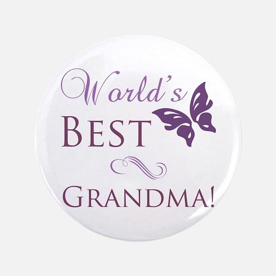 "World's Best Grandma 3.5"" Button"