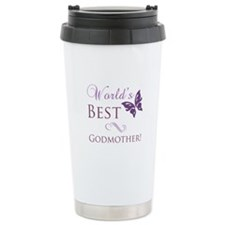 World's Best Godmother Travel Mug