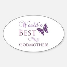 World's Best Godmother Decal
