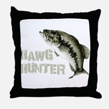 Hawg Hunter Throw Pillow