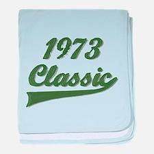 Unique Born 1973 baby blanket