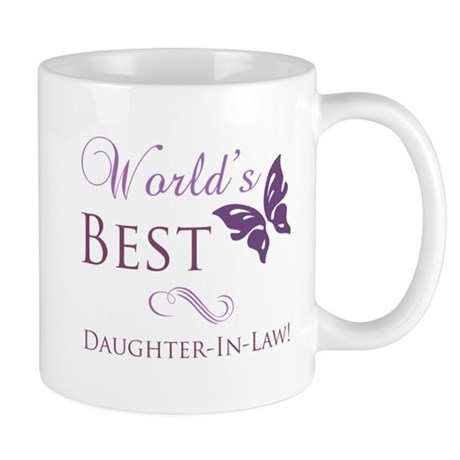 World's Best Daughter-In-Law Mug