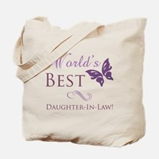 World's Best Daughter-In-Law Tote Bag