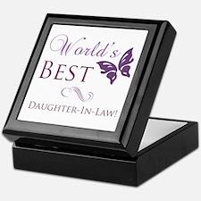 World's Best Daughter-In-Law Keepsake Box