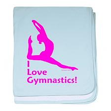 Gymnastics Baby Blanket