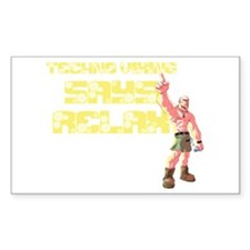 Techno Viking Relax Decal