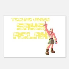 Techno Viking Relax Postcards (Package of 8)