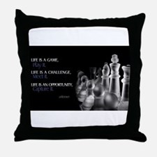 Funny Empower Throw Pillow