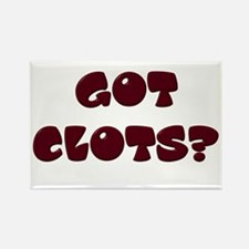 Got Clots? Rectangle Magnet