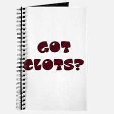 Got Clots? Journal