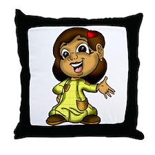 Lovergirlz Candy's Throw Pillow