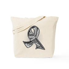 Brain Cancer Slogans Tote Bag
