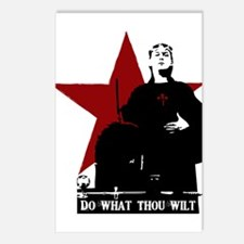 Crowley-Do What Thou Wilt Postcards (Package of 8)