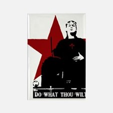 Crowley-Do What Thou Wilt Rectangle Magnet