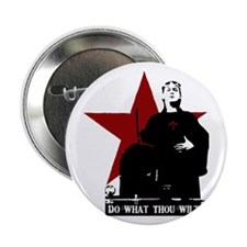 """Crowley-Do What Thou Wilt 2.25"""" Button"""