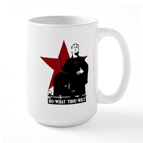 Crowley-Do What Thou Wilt Large Mug