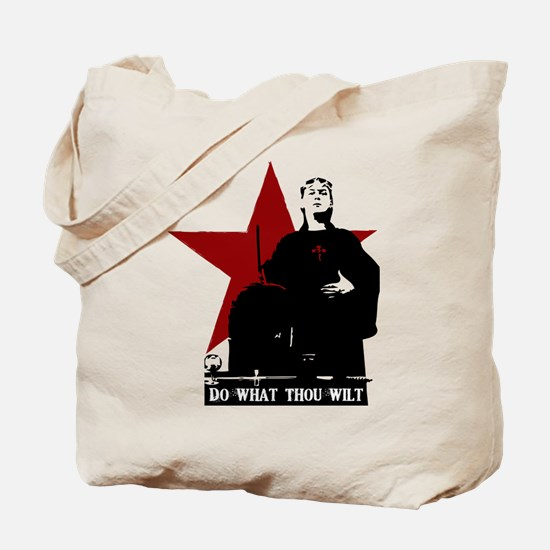 Crowley-Do What Thou Wilt Tote Bag