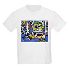 House 'o Boston Terriers Kids T-Shirt