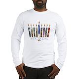 Hanukkah Long Sleeve T Shirts