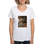 A Carpenter's Tools (2) Women's V-Neck T-Shirt