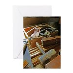 A Carpenter's Tools (2) Greeting Card