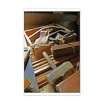 A Carpenters Tools (2) Mini Poster Print