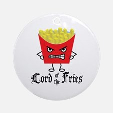 Lord of Fries Ornament (Round)