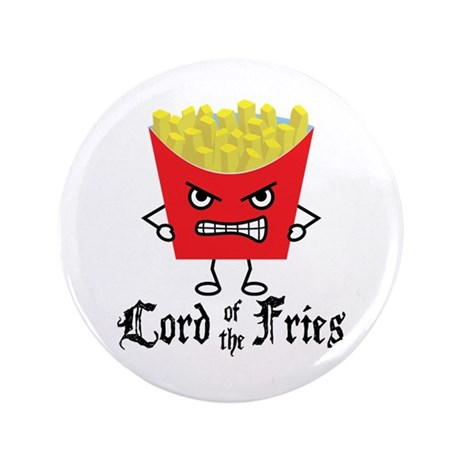 """Lord of Fries 3.5"""" Button (100 pack)"""