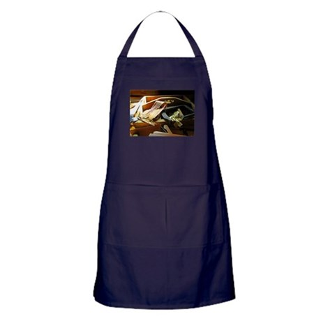 A Carpenter's Bench Apron (dark)