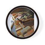 A Carpenter's Tools (2) Wall Clock