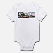 0186 - How come we're not... Infant Bodysuit