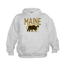 Maine Moose Hoodie