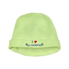 Funny Cockatiel baby hat