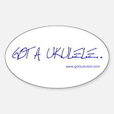 Got A Ukulele Decal