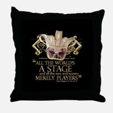 As You Like It Quote Throw Pillow