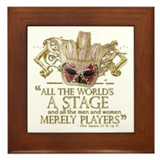 As You Like It Quote Framed Tile