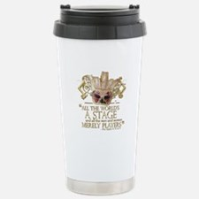 As You Like It Quote Stainless Steel Travel Mug