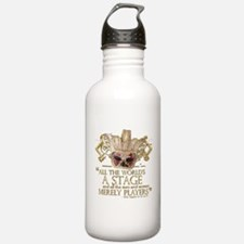 As You Like It Quote Water Bottle
