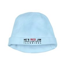 He's Red Jim baby hat