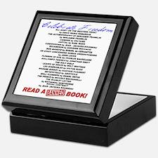 Read a Banned Book! Keepsake Box
