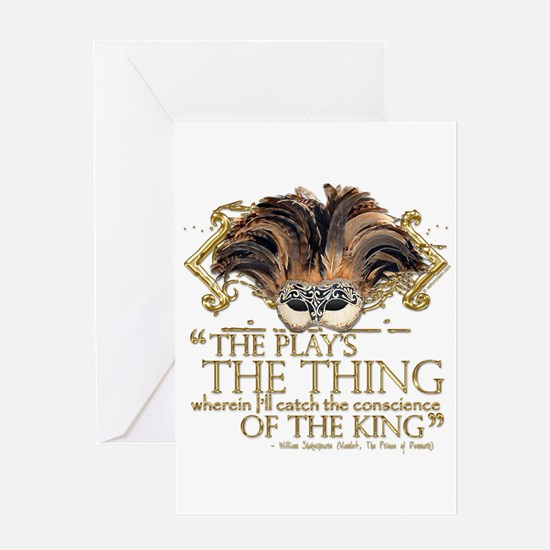 Shakespeare Hamlet Quote Greeting Card