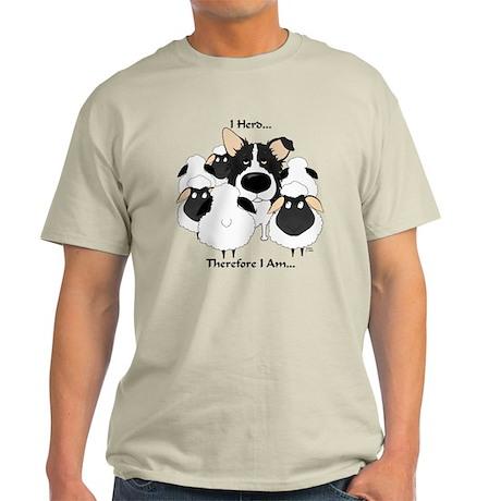Border Collie - I Herd Light T-Shirt