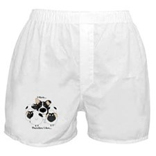 Border Collie - I Herd Boxer Shorts