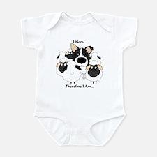 Border Collie - I Herd Infant Bodysuit