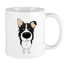 Big Nose/Butt Border Collie Mug