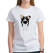 Big Nose/Butt Border Collie Tee