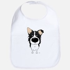 Big Nose Border Collie Bib