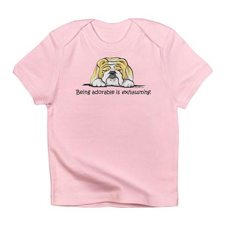 Adorable Bulldog Infant T-Shirt