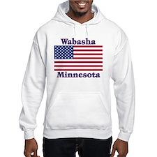 Wabasha US Flag Hoodie