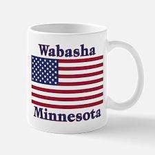 Wabasha US Flag Mug